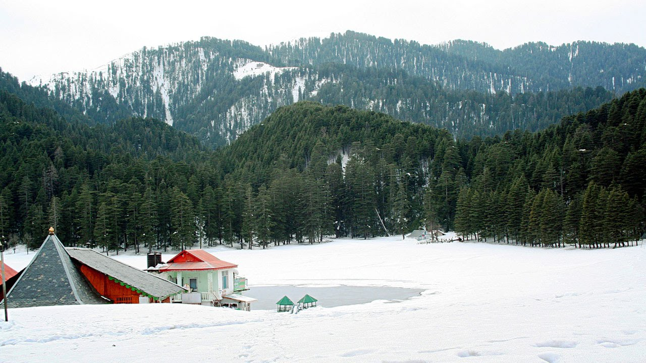 Khajjiar in Winter