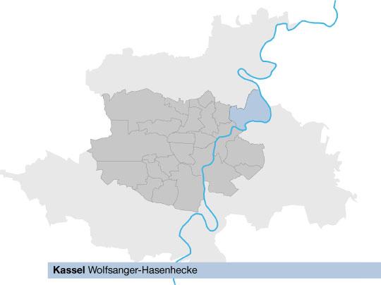 Karte Kassel