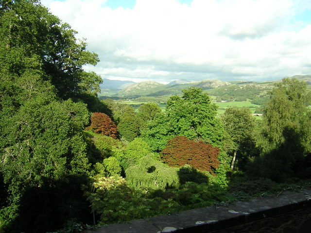 Lakeland View from Muncaster Castle 1 - geograph.org.uk - 306957