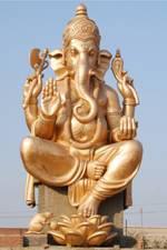 Lord ganesha statue 72ft Bahadurgarh,Hariyana,India.jpg