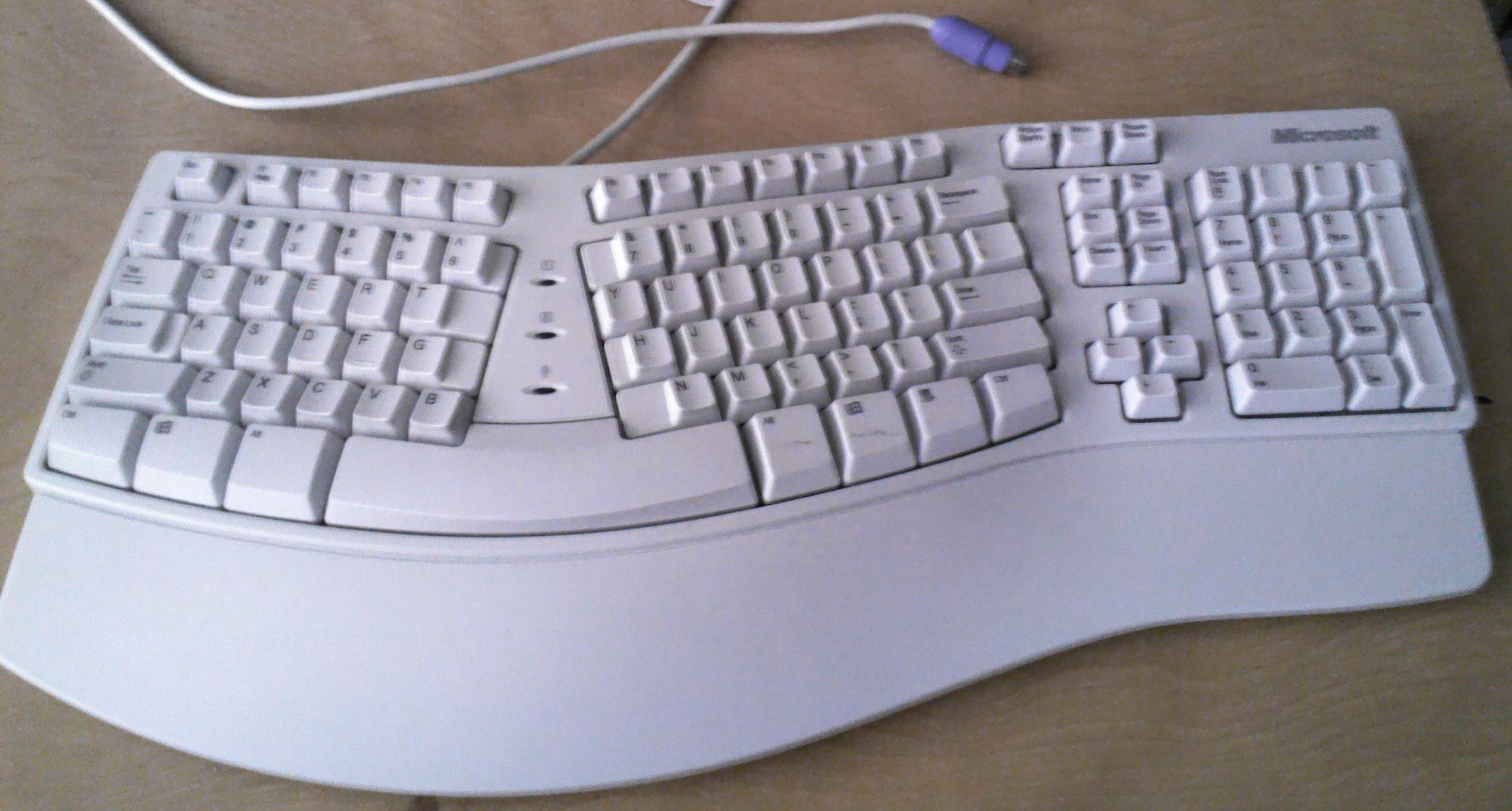 MS Natural Keyboard Elite