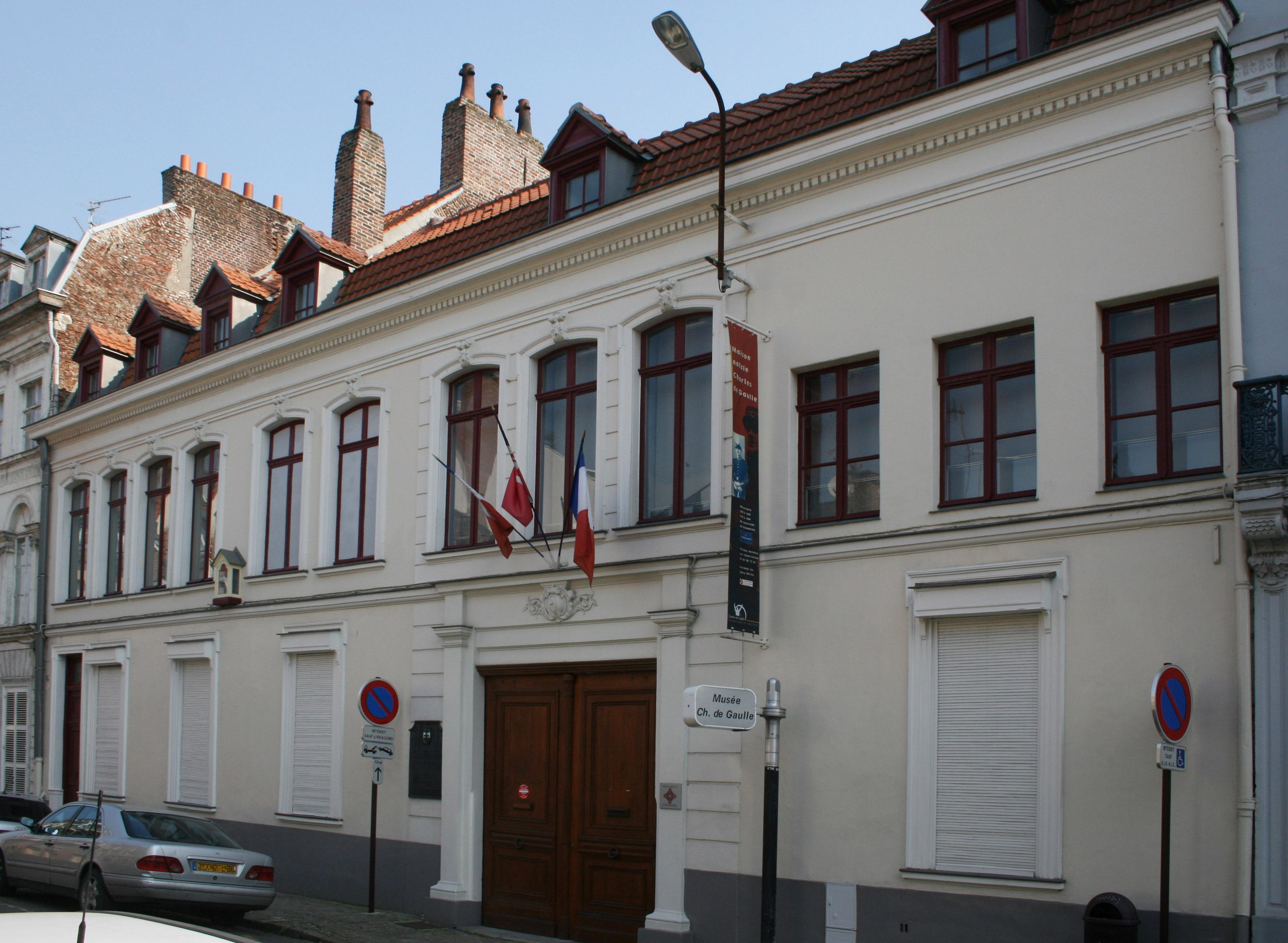 File maison natale de charles de gaulle wikipedia for Maison des ados lille