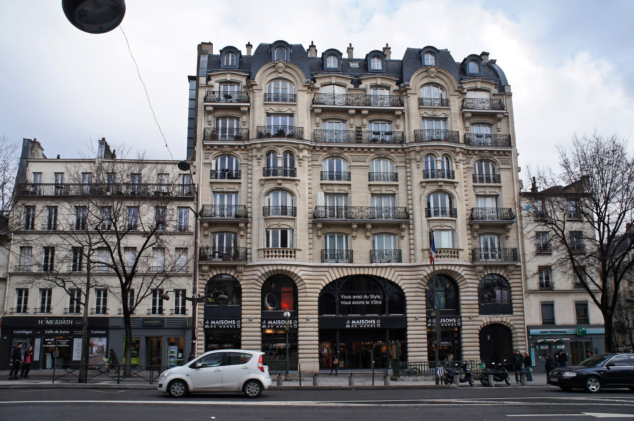 File maisons du monde 57 avenue d 39 italie 75013 paris wikimedia commons - La maison du canape paris ...