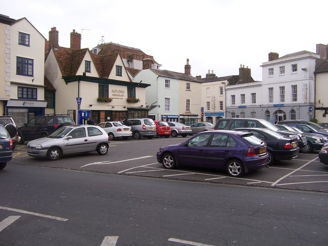 Market Square - Bicester - geograph.org.uk - 1032144