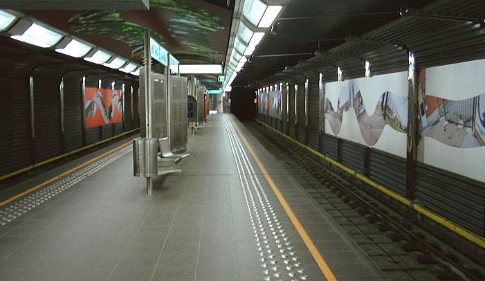 La Roue/Het Rad metro station