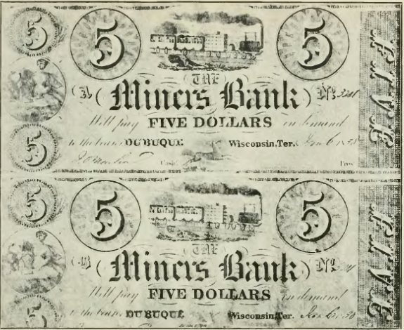 Miners' Bank Bills - History of Iowa.jpg
