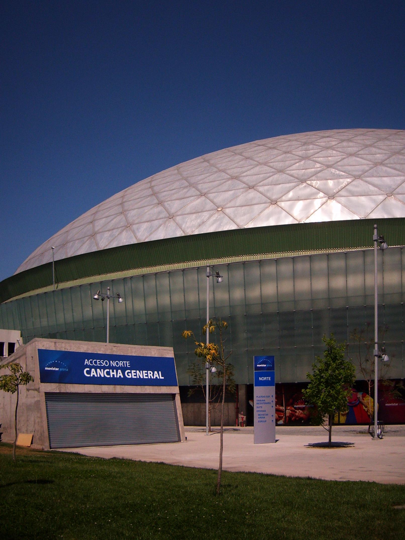 Depiction of Movistar Arena