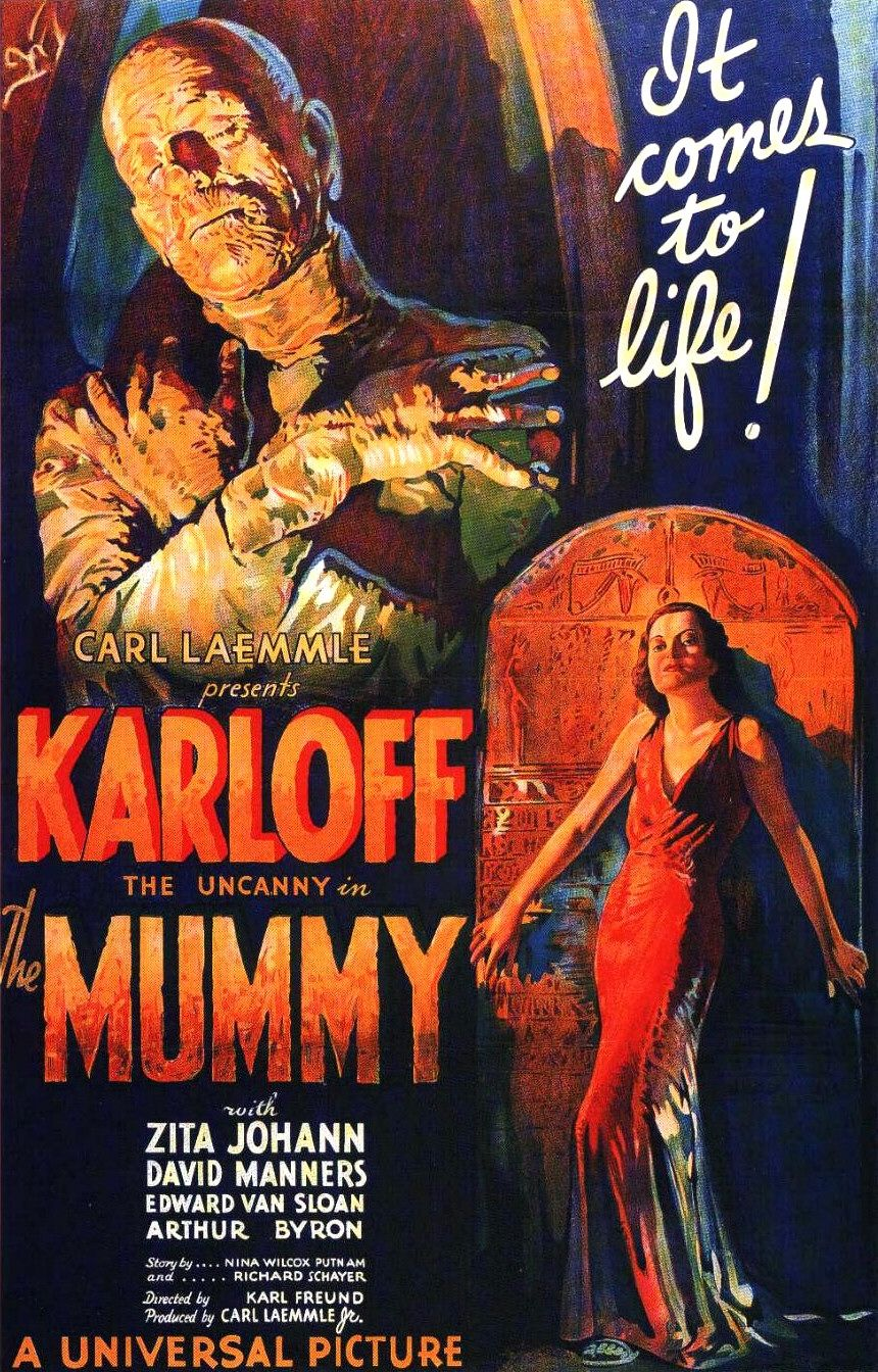 The Mummy (1932) movie poster