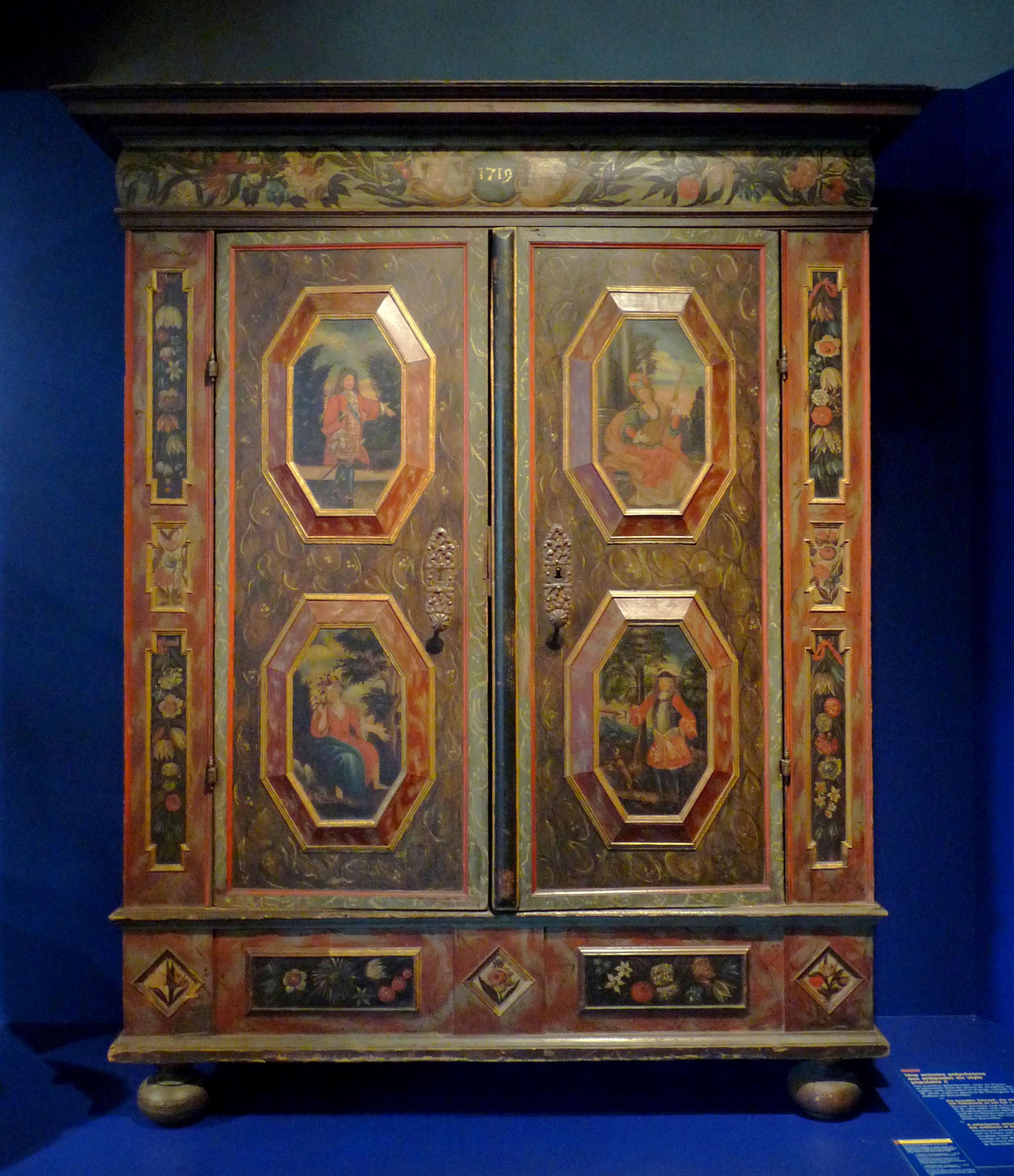 File mus e historique de strasbourg armoire l 39 oranger wikime - L armoire de camille ...