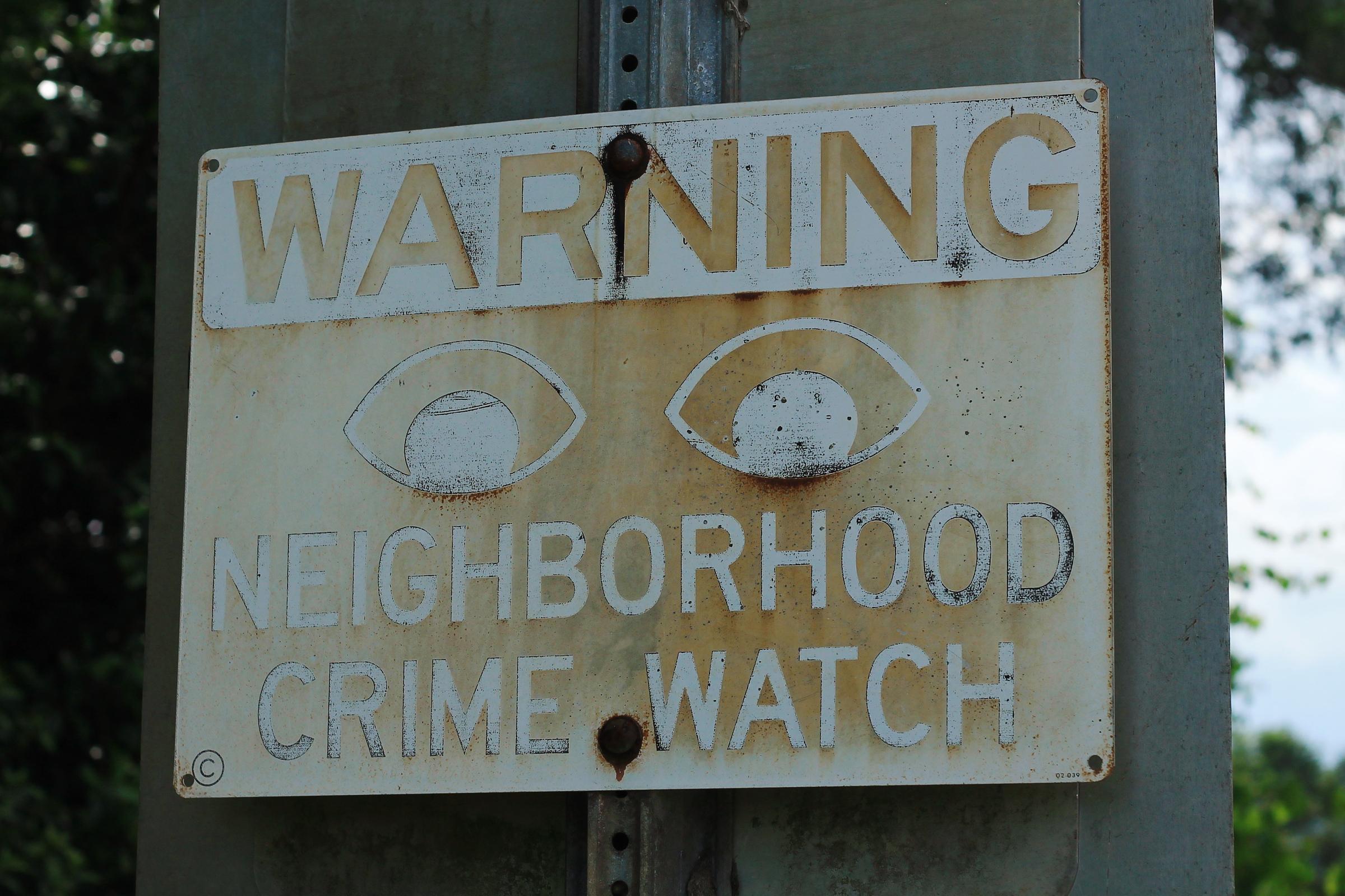 Fileneighborhood Crime Watch Sign 28350368487jpg Wikimedia Commons