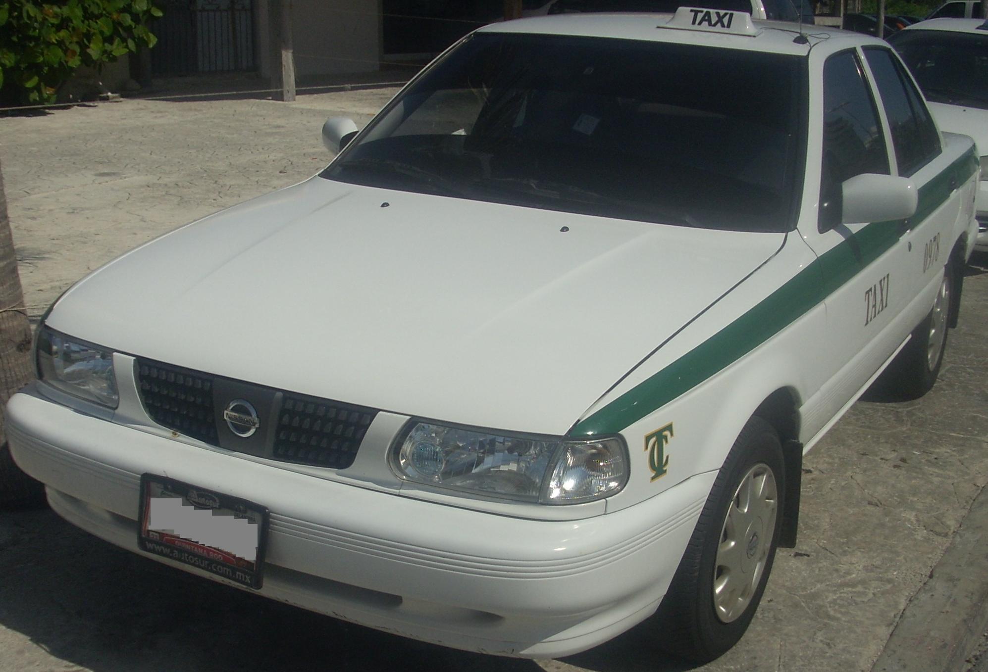 File:Nissan Tsuru Taxicab jpg - Wikimedia Commons