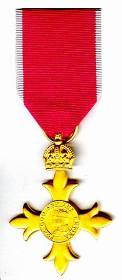 Officer of the Order of the British Empire cover
