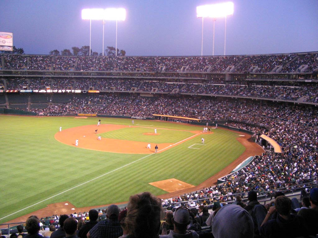 New Oakland Athletics Coliseum