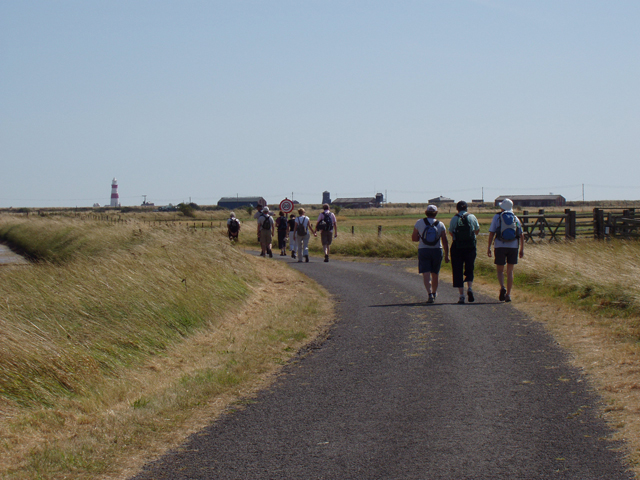 Orford Ness footpaths - geograph.org.uk - 1457404