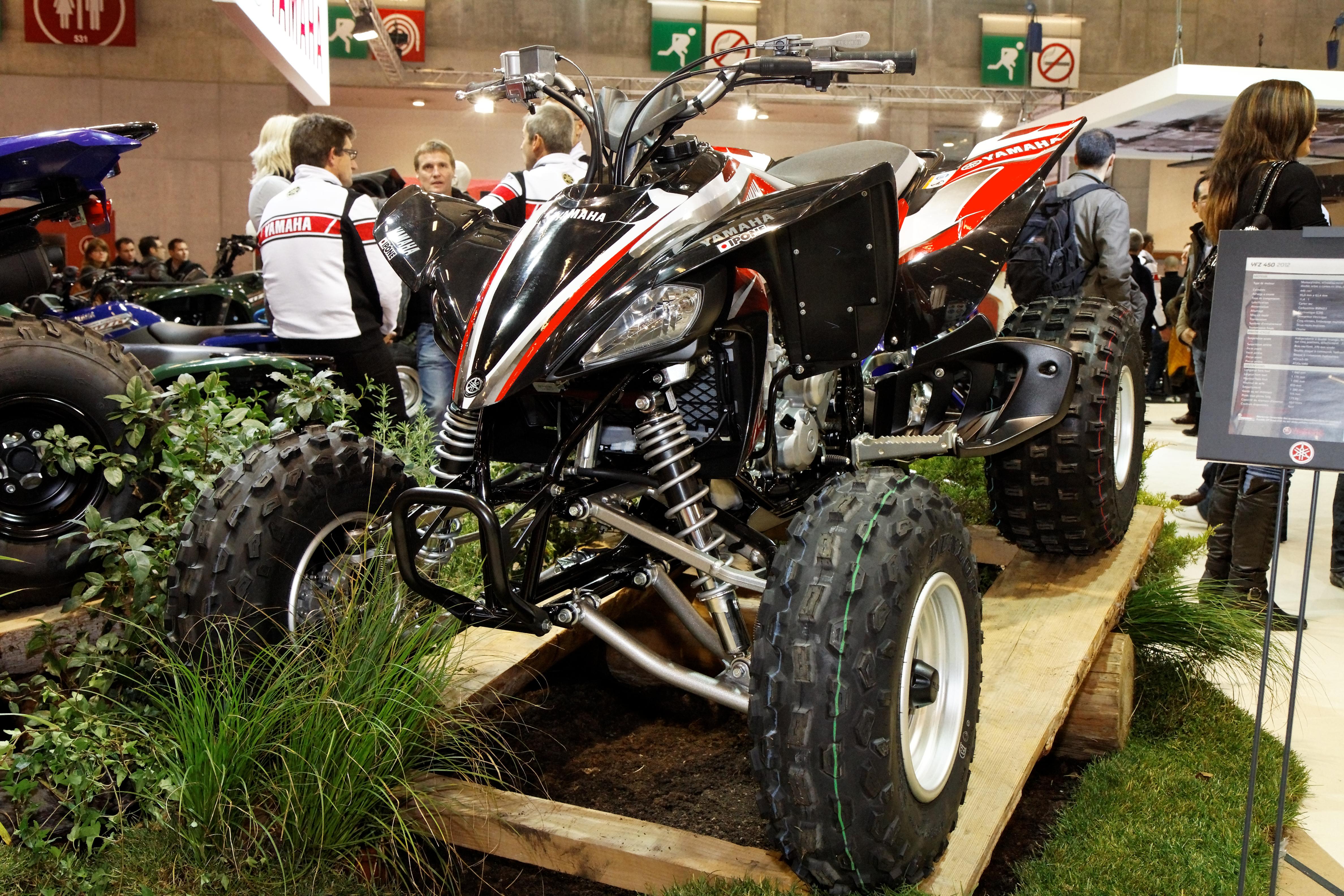 File paris salon de la moto 2011 yamaha yfz 450 - Salon de the paris 11 ...