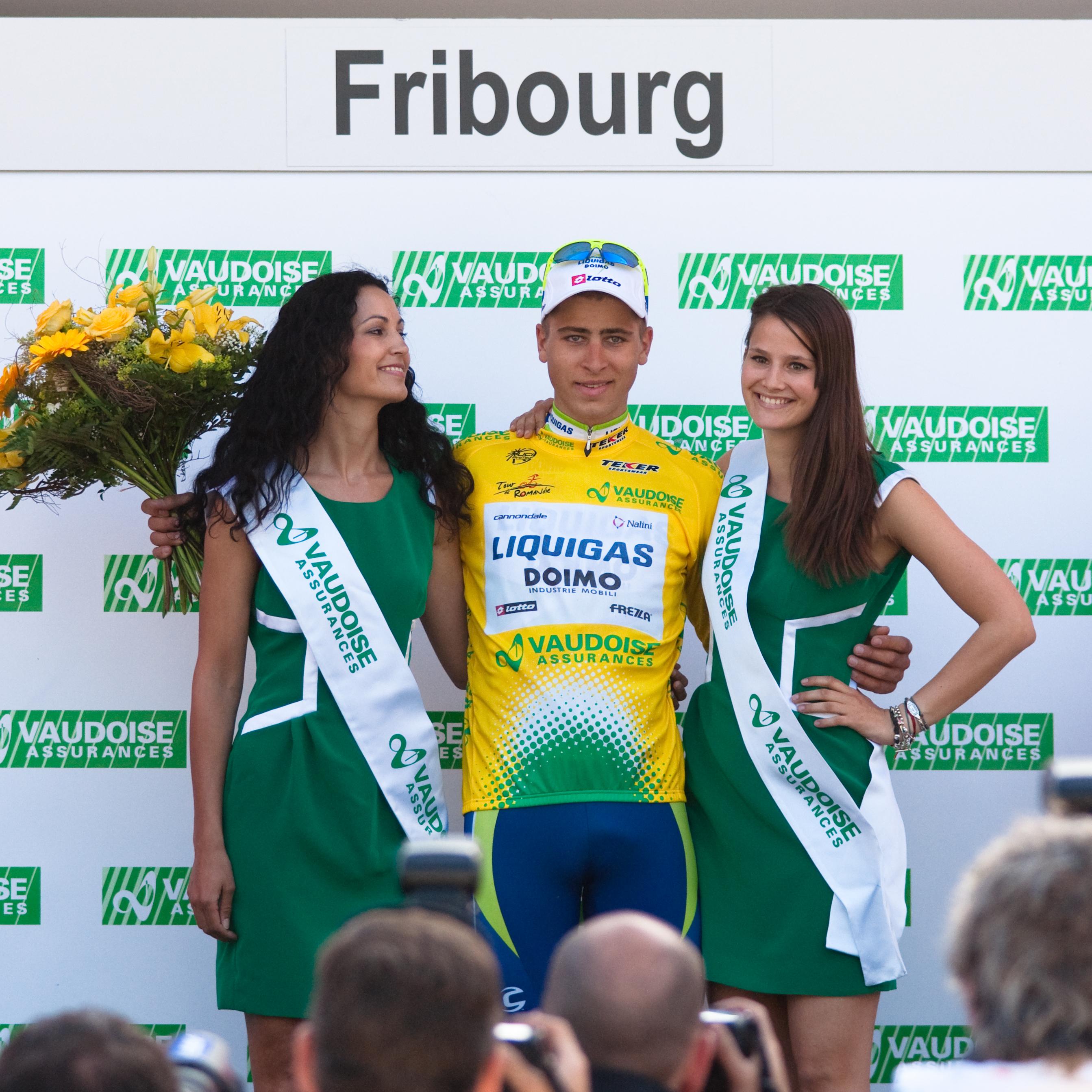 Podium Girl Tour De France