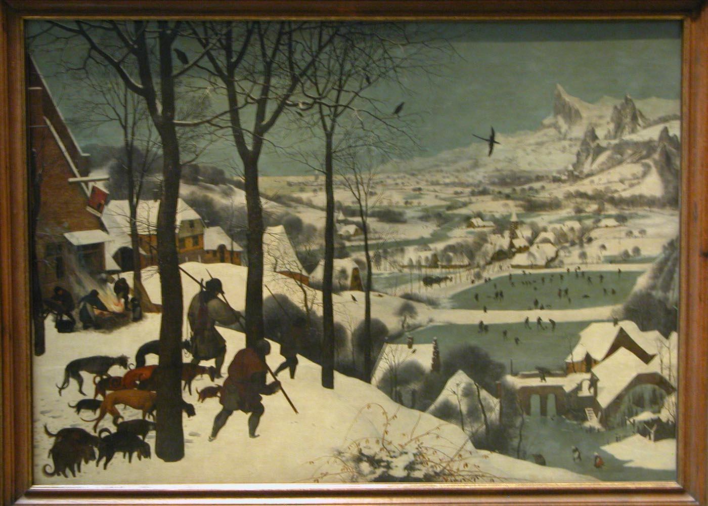 File Pieter Brueghel The Elder  Hunters In The Snow Jpg
