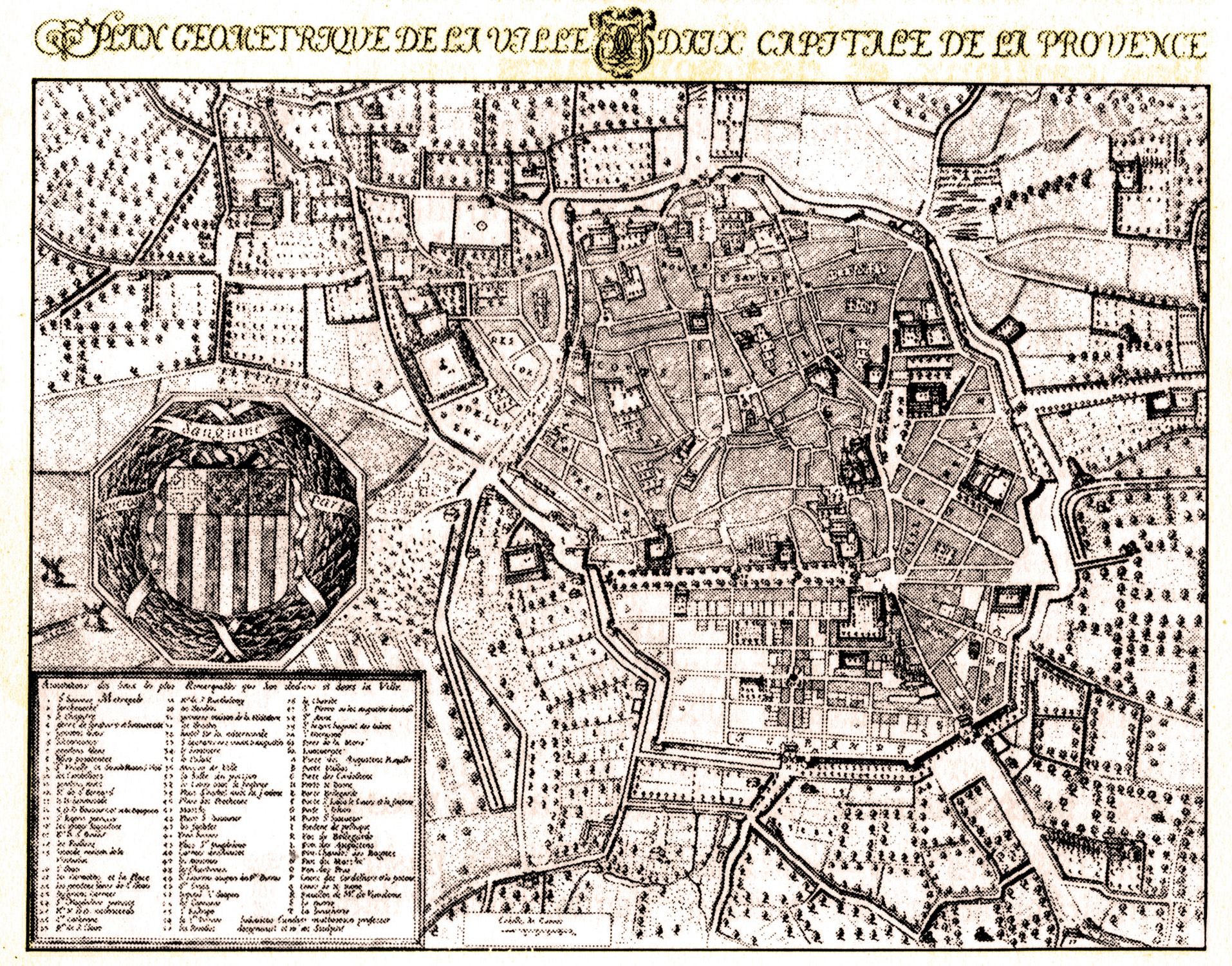 Plan Ville Vieux Tourstours