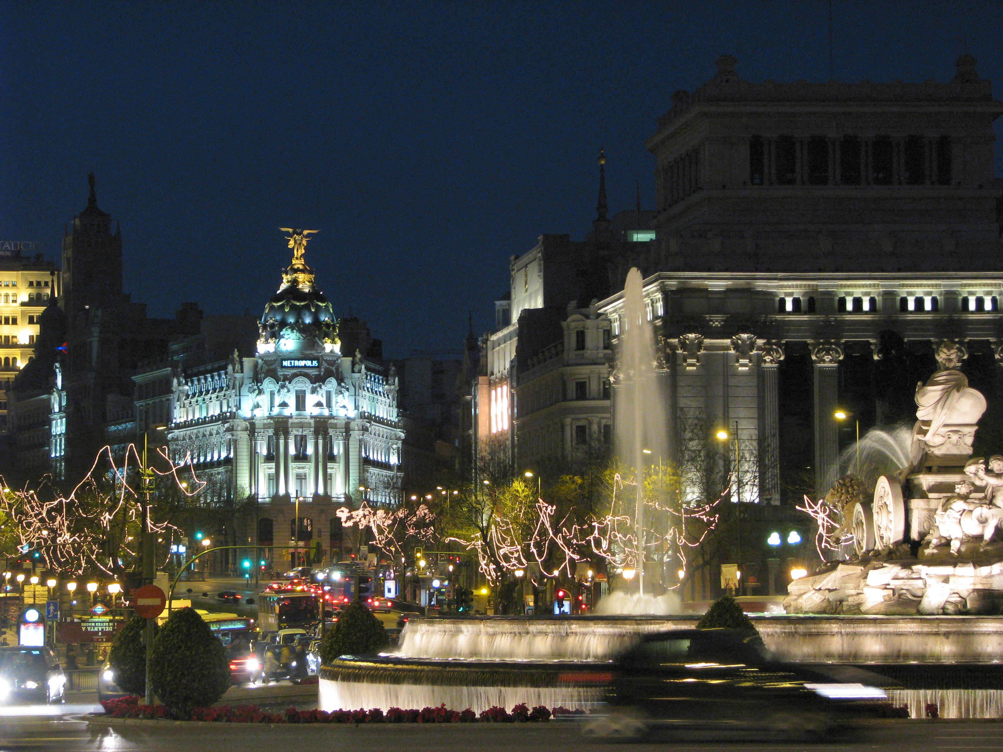 Plaza de Cibeles – Madrid