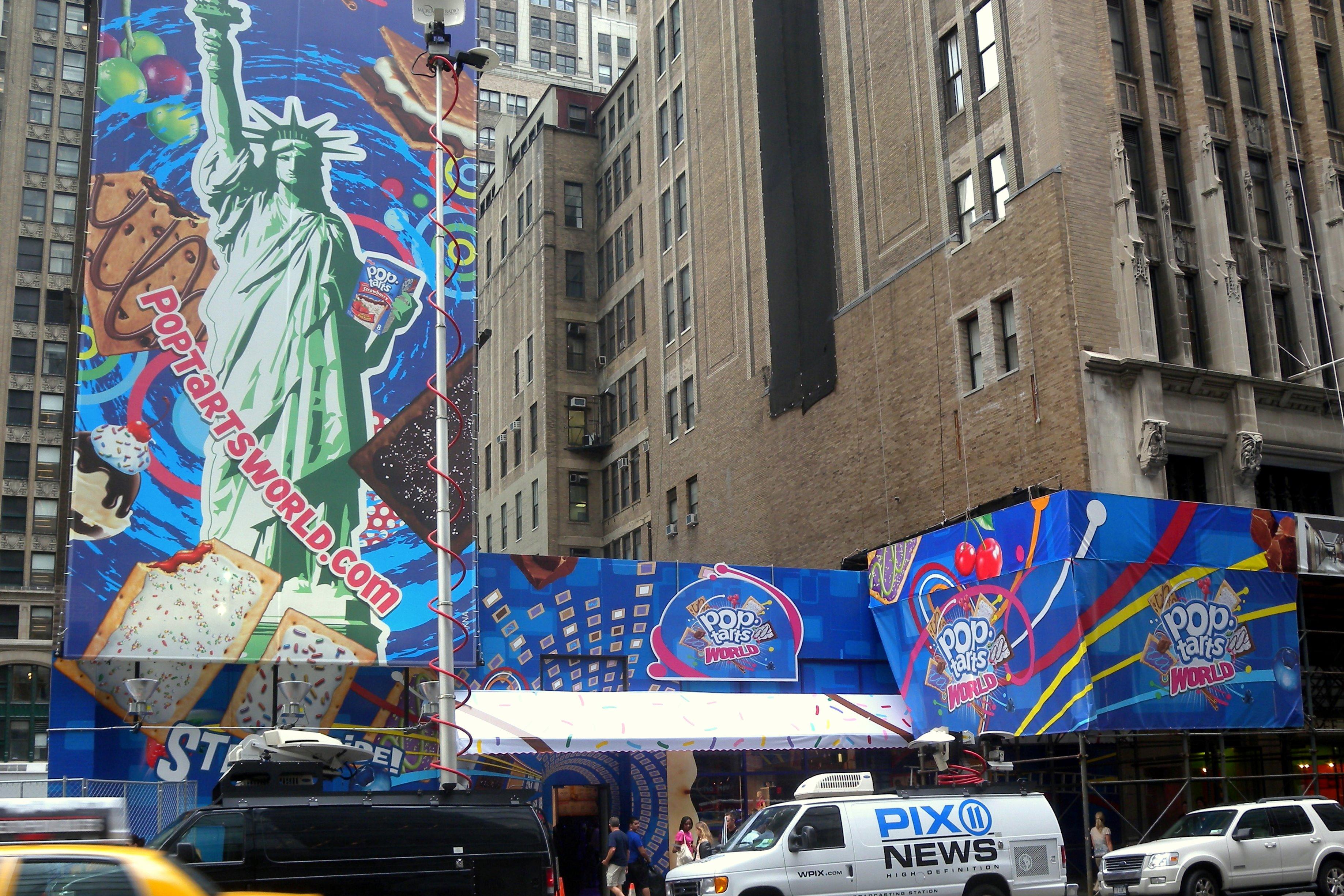 Pop-Tarts World, New York