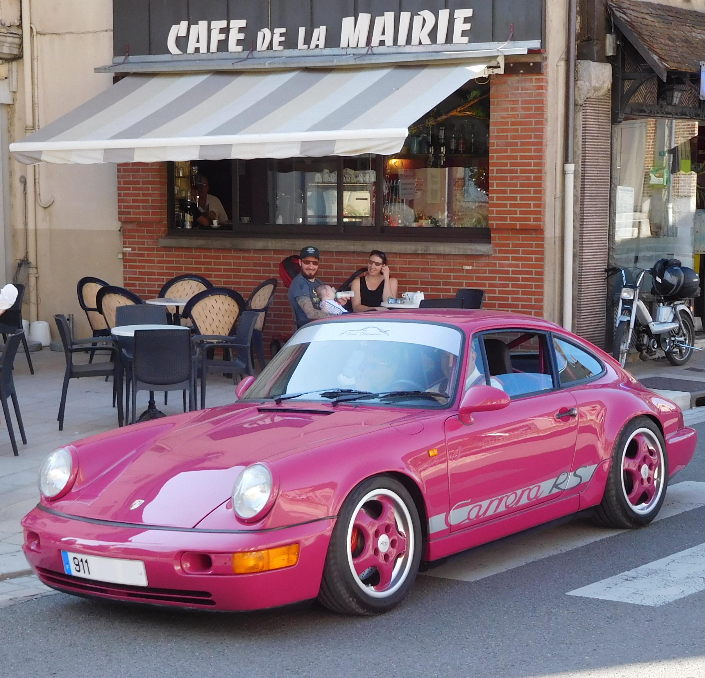 File Porsche 911 Carrera Rs Pink Jpg Wikimedia Commons