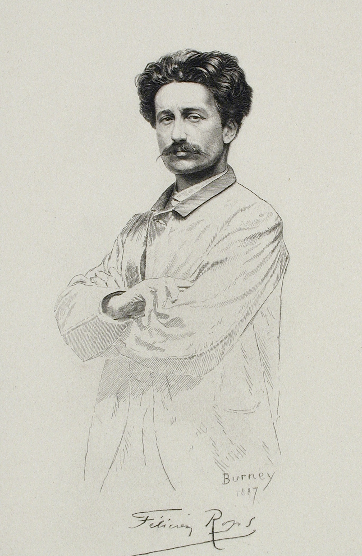 Image of Félicien Rops from Wikidata
