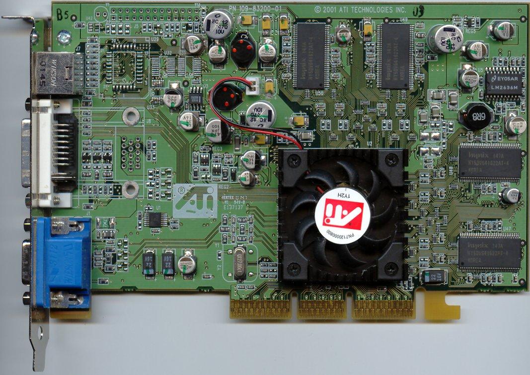 AMD/ATI drivers for Radeon 7500 Series and Windows XP 32bit