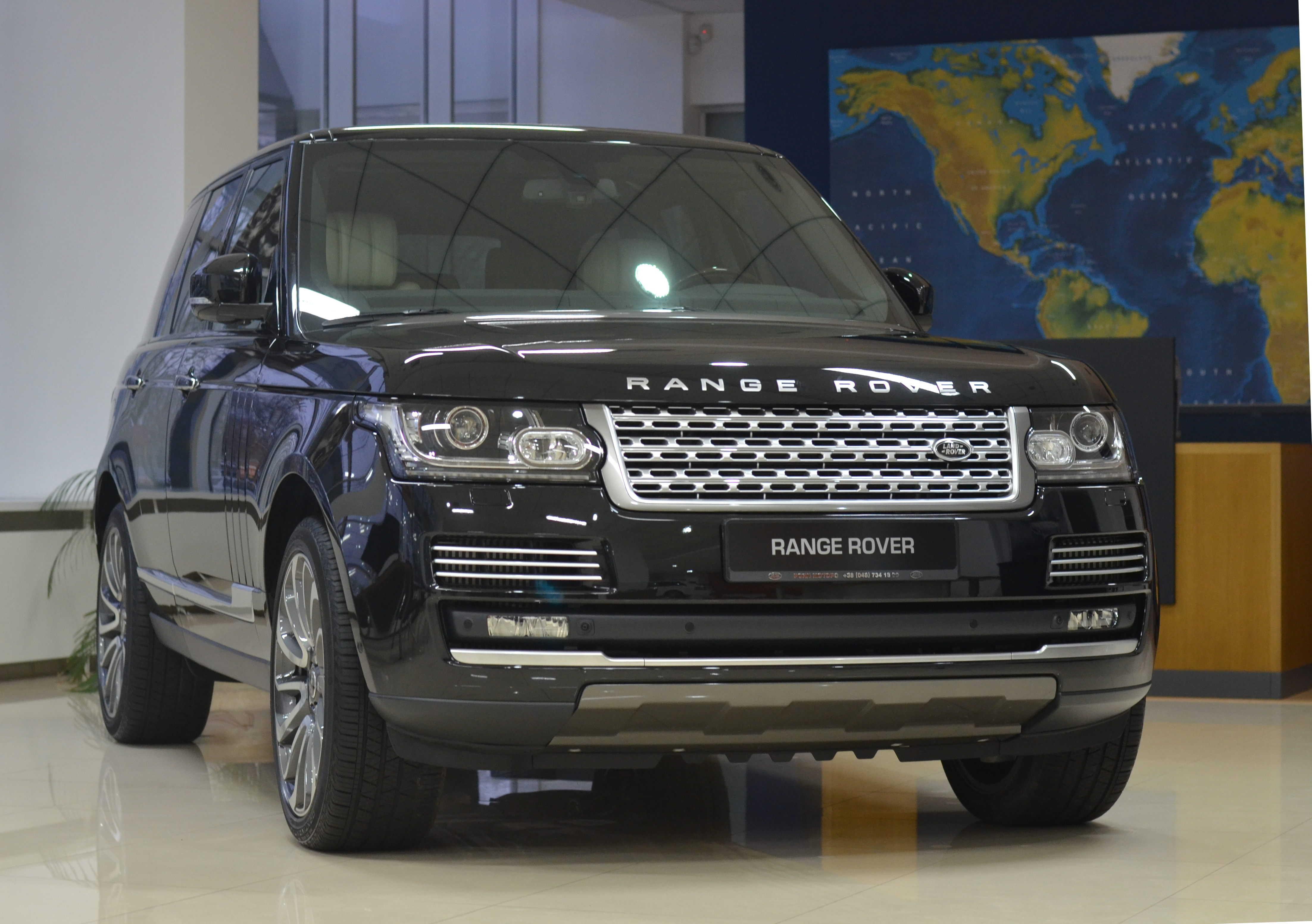 file range rover l405 front view jpg wikimedia commons. Black Bedroom Furniture Sets. Home Design Ideas