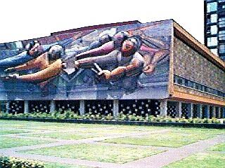 File rectoria unam mural wikimedia commons for El mural de siqueiros