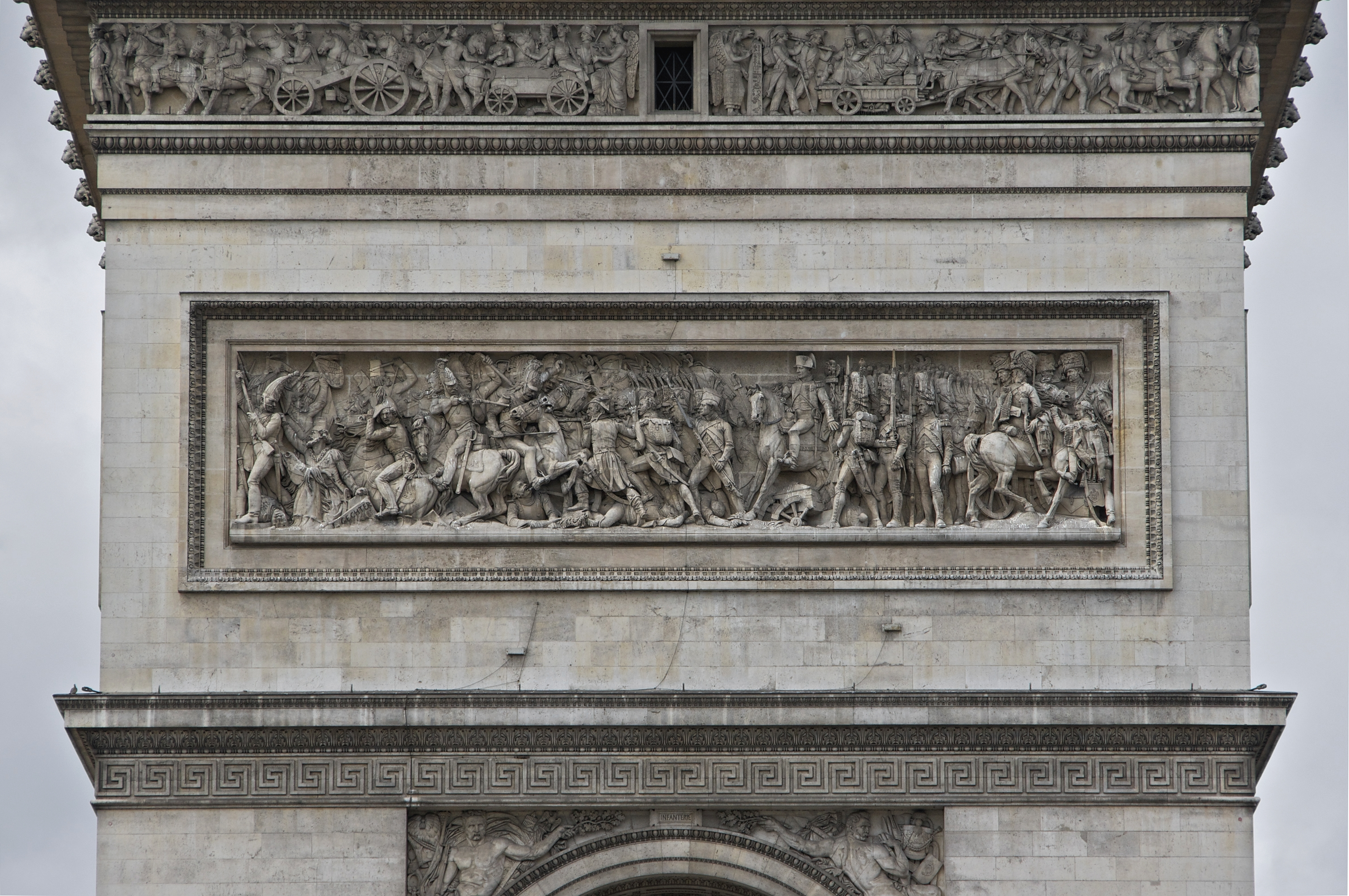 File:Relief nord arc triomphe Gechter jpg - Wikimedia Commons
