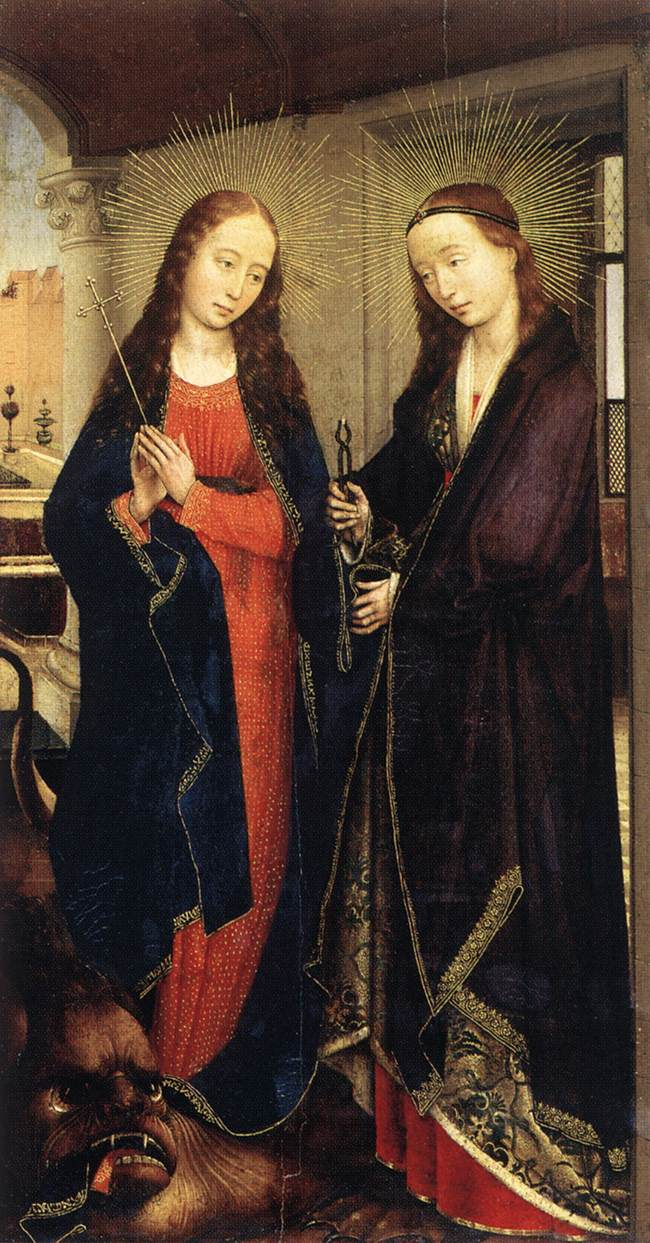 http://upload.wikimedia.org/wikipedia/commons/4/42/Rogier_van_der_Weyden_-_Sts_Margaret_and_Apollonia_-_WGA25674.jpg