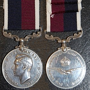 WW2 GEORGE VI BRITISH ARMY LONG SERVICE AND GOOD CONDUCT LSGC MEDAL COMMONWEALTH