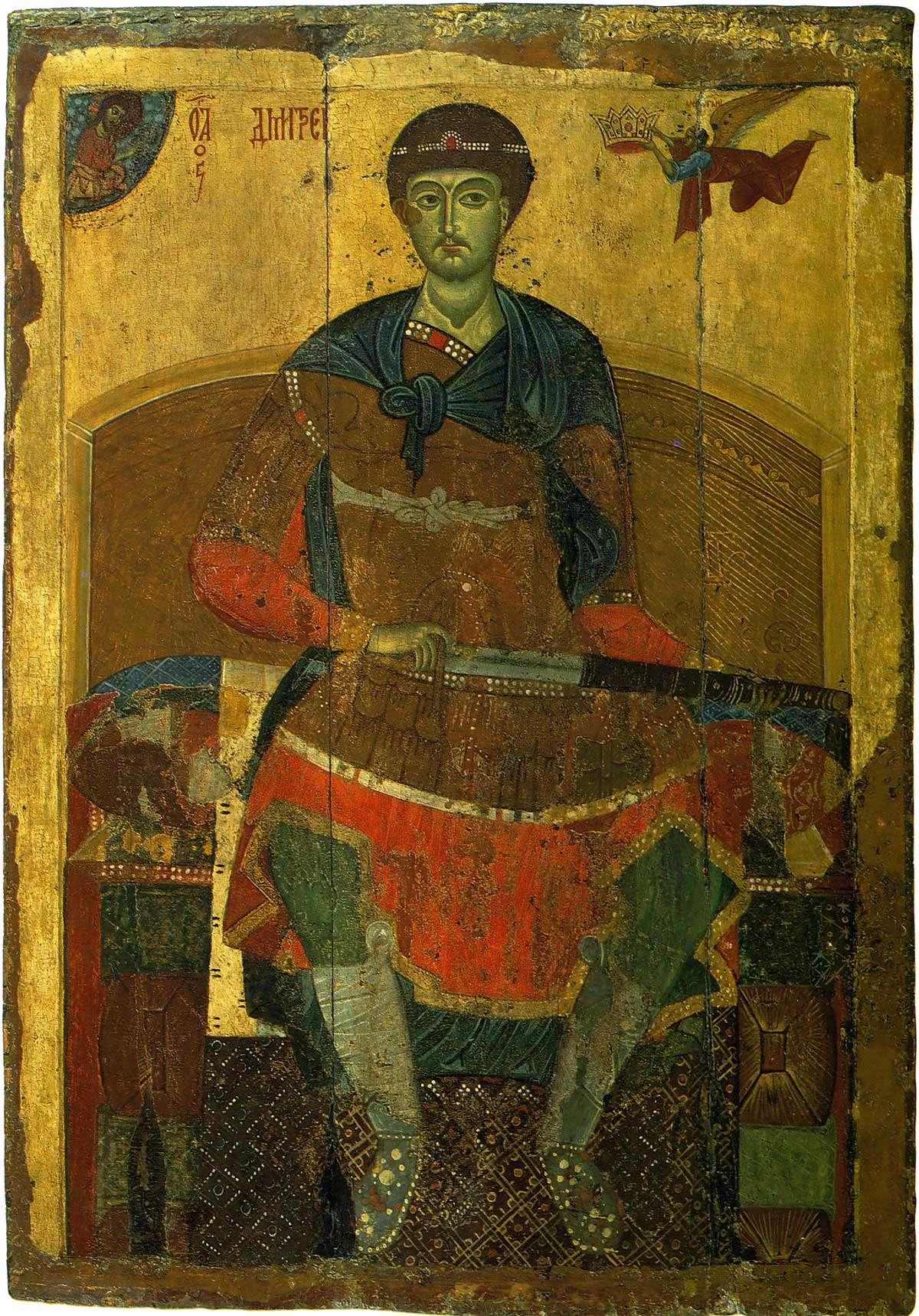 Saint Demetrios de Thessalonique dans immagini sacre Saint_Demetrios_de_Thessalonique