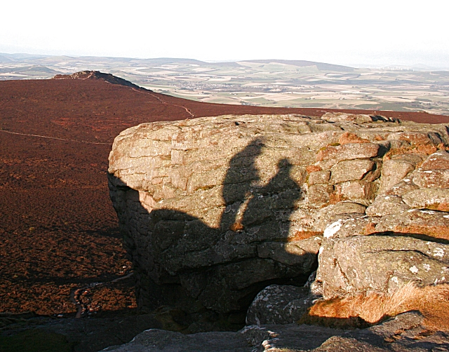 Shadows on Mither Tap - geograph.org.uk - 1083613