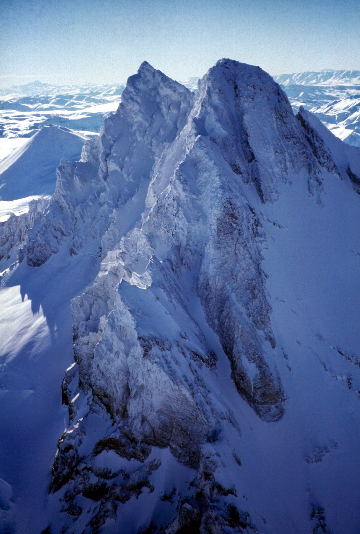 La cordigliera o catena montuosa delle Ande