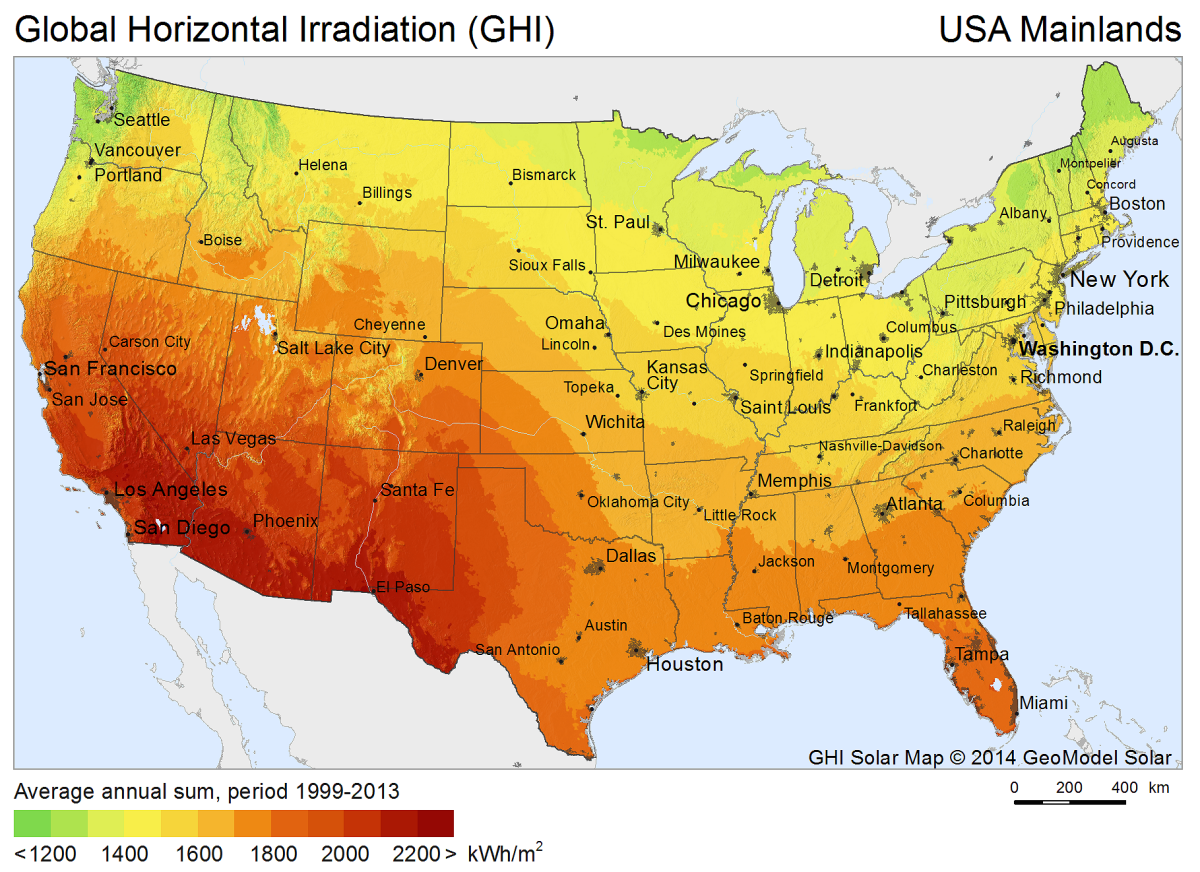 FileSolarGISSolarmapUSAenpng Wikimedia Commons - Wikimedia commons us maps most popular