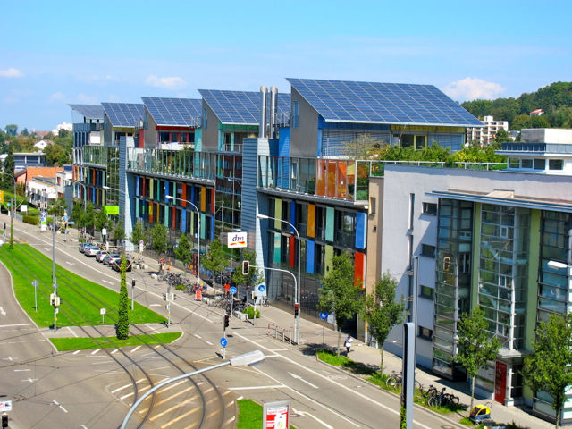 This city in Germany is literally built for solar power.