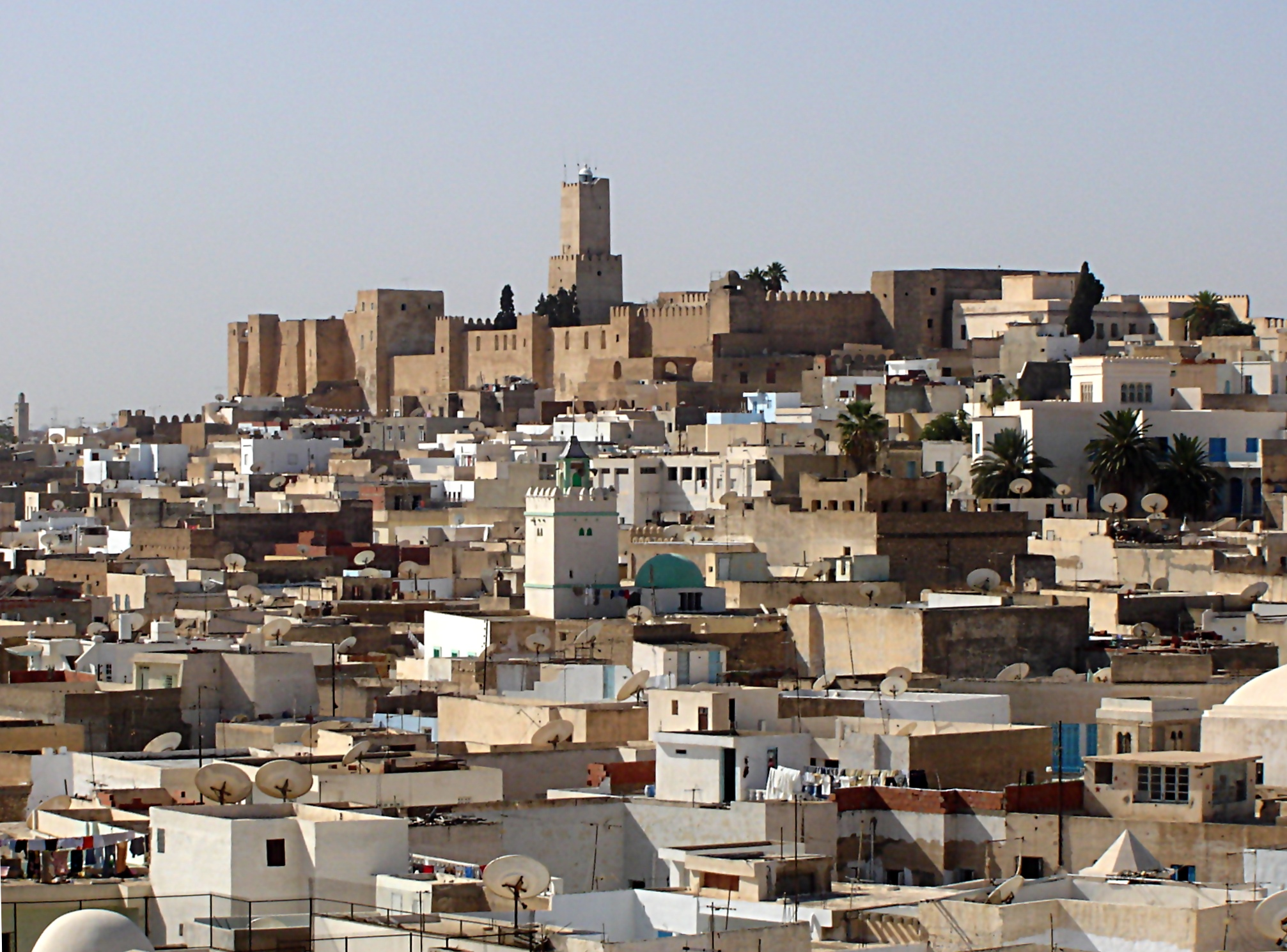 Sousse Tunisia  City pictures : Sousse Kasbah Wikimedia Commons