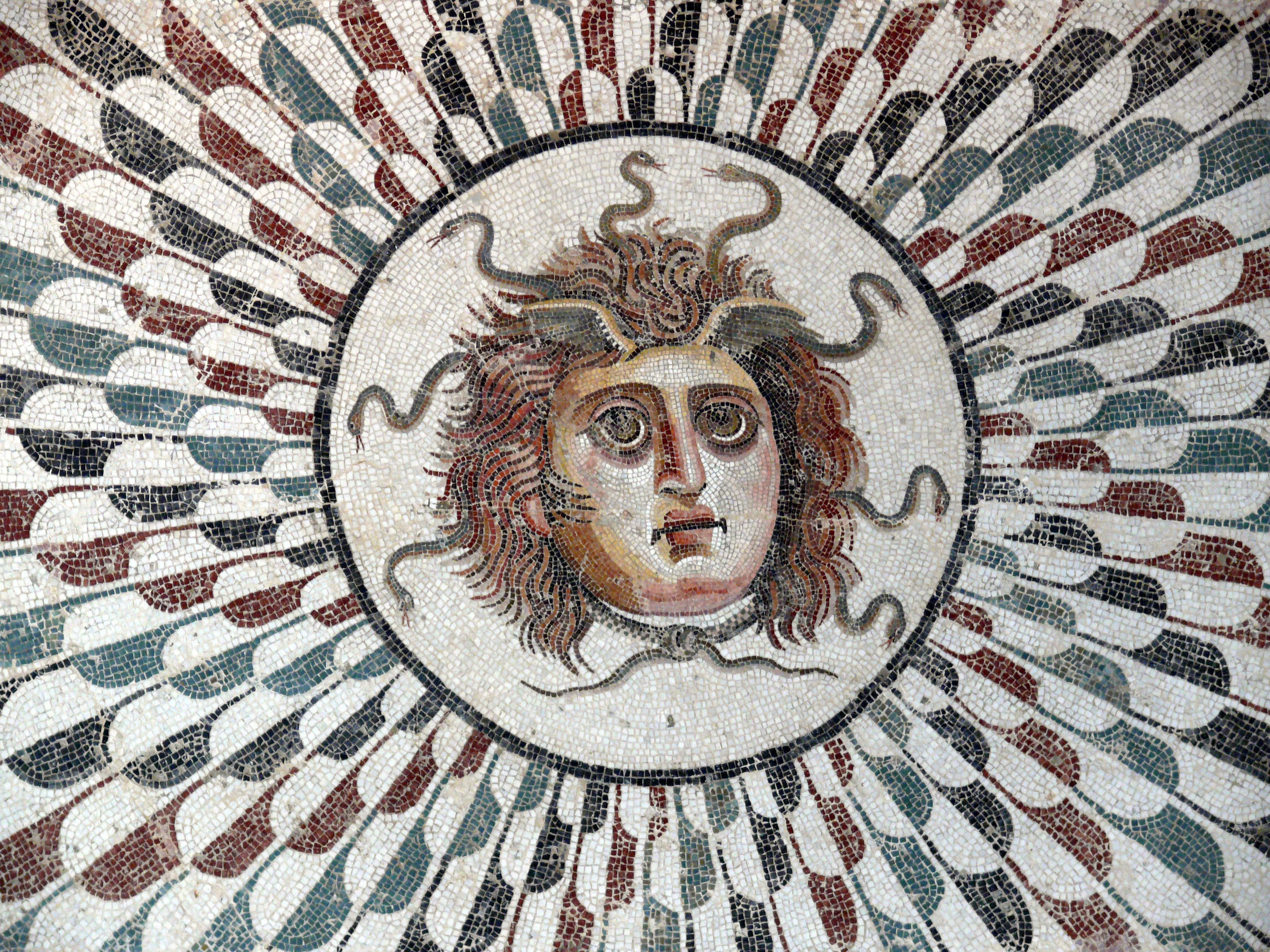 The Medusa's Head Central to a