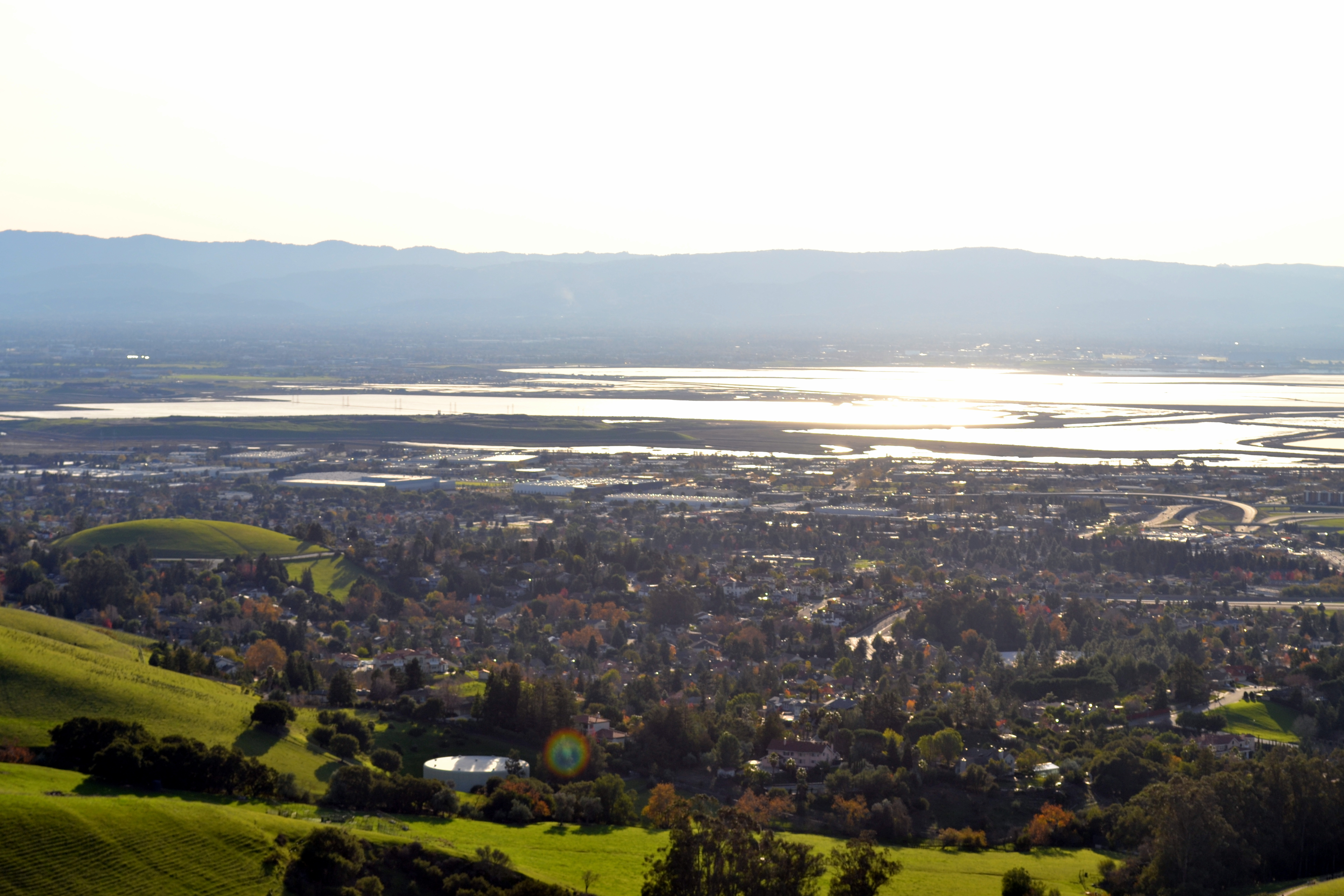 File:South San Francisco Bay Viewed From Mission Peak In Fremont,  California.JPG