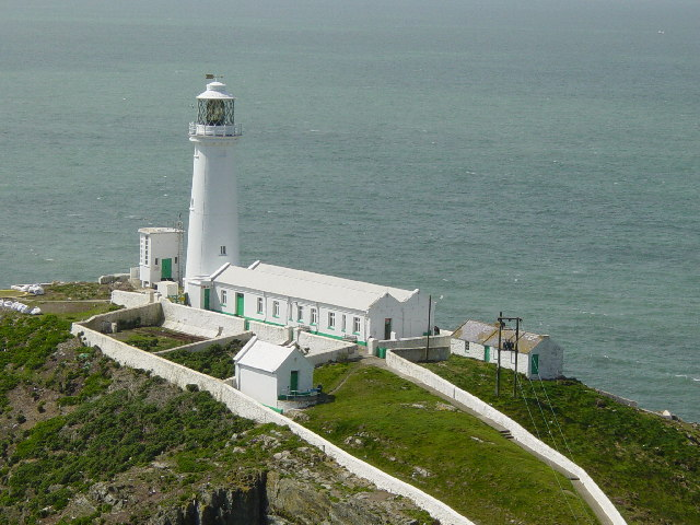 South Stack Lighthouse - geograph.org.uk - 10540