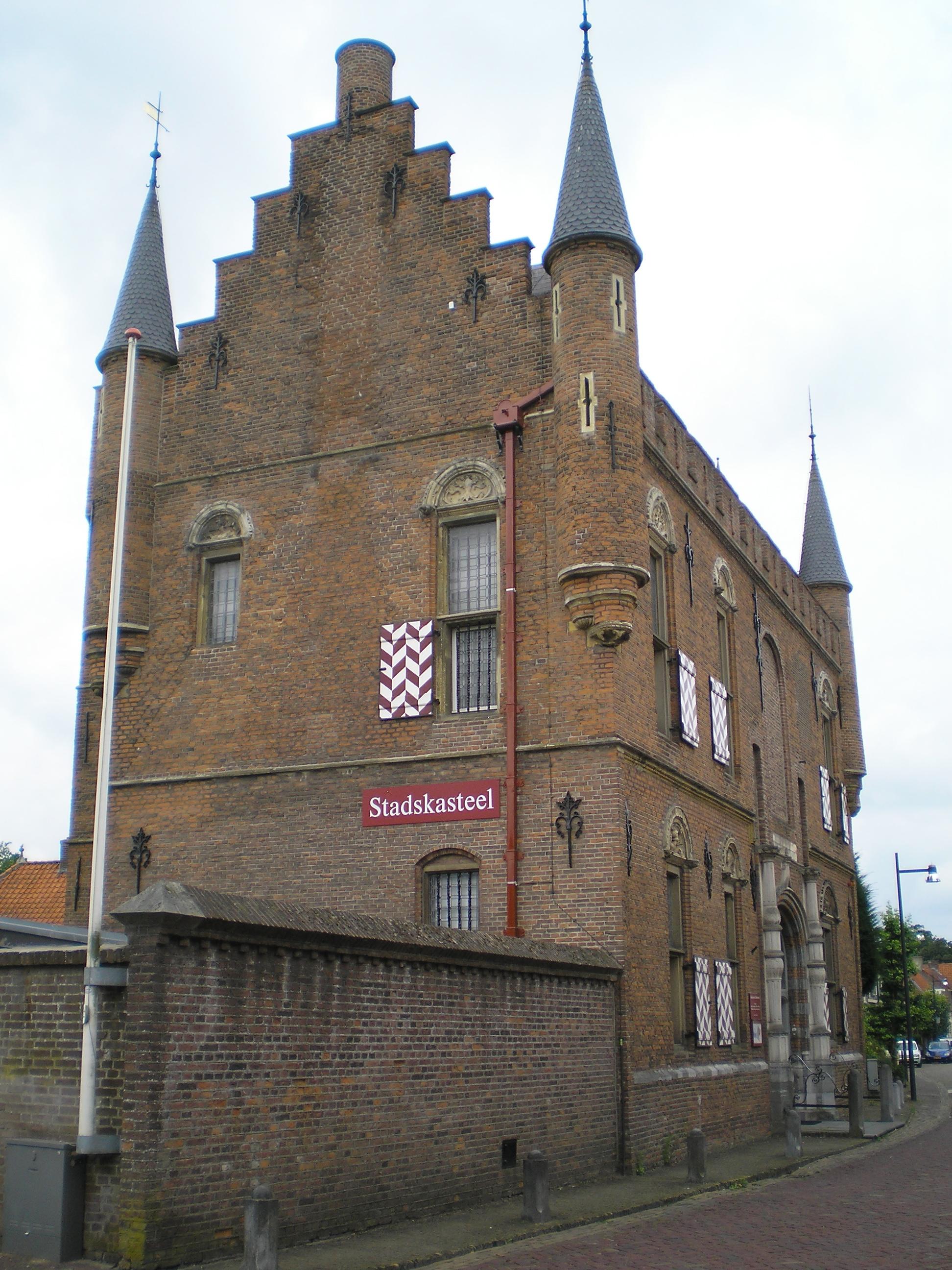 File Stadskasteel Zaltbommel Voorheen Maarten Van Rossummuseum Nederland 02 Jpg Wikimedia Commons