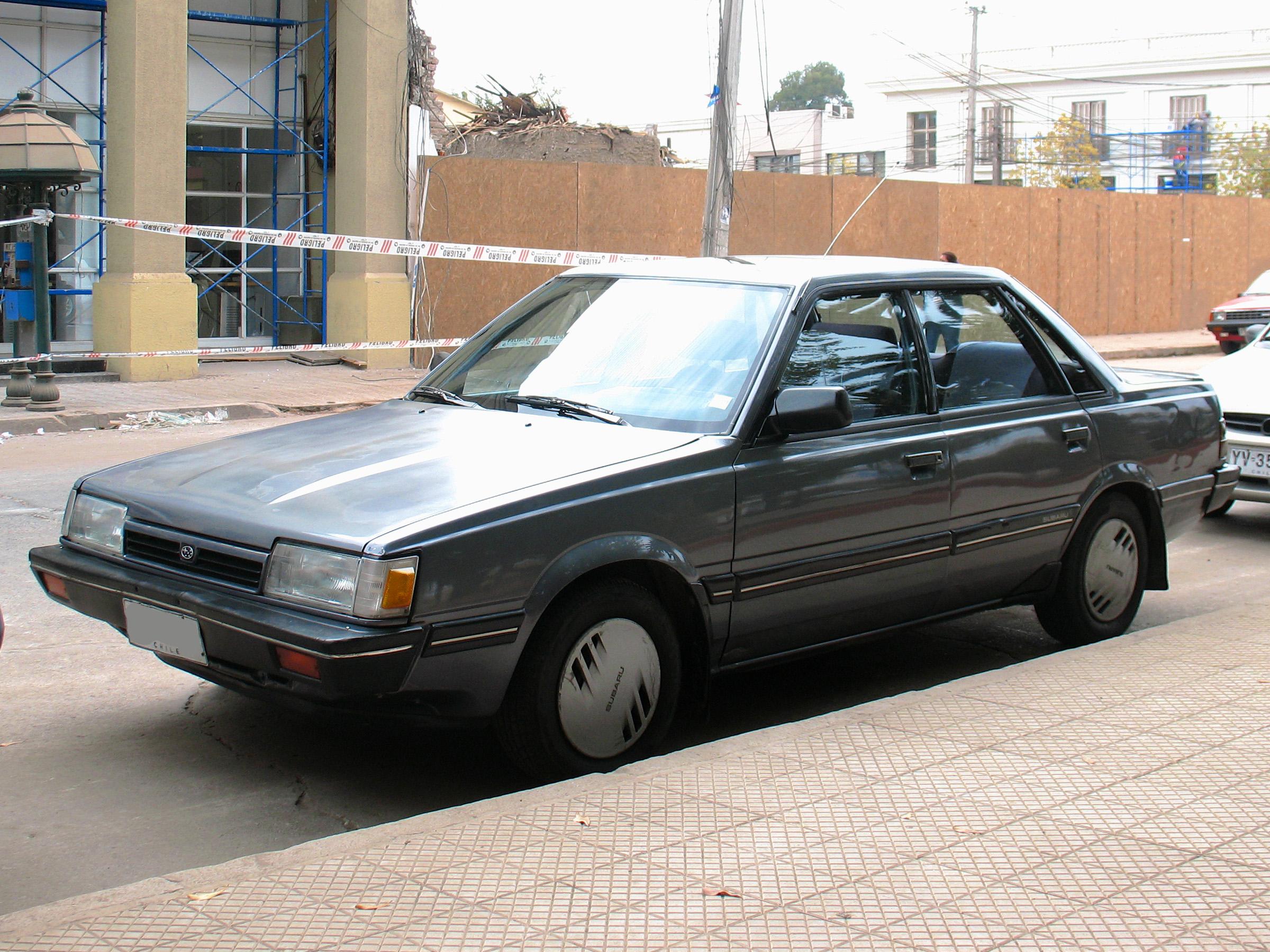 File Subaru 1 8i Gt Sedan 1988 15663004833 Jpg