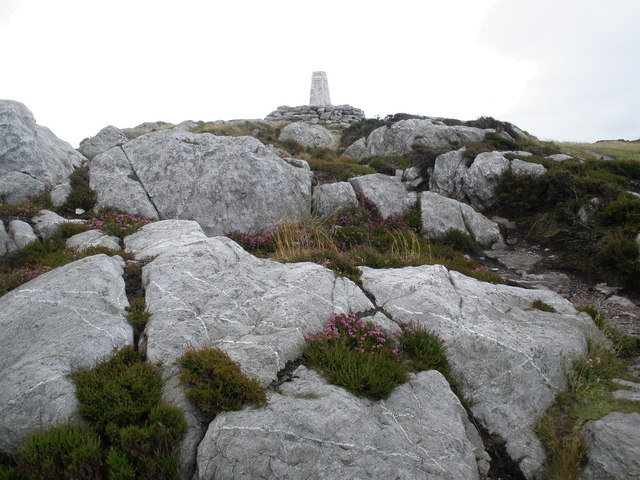 Summit of Holyhead Mountain - geograph.org.uk - 1412083