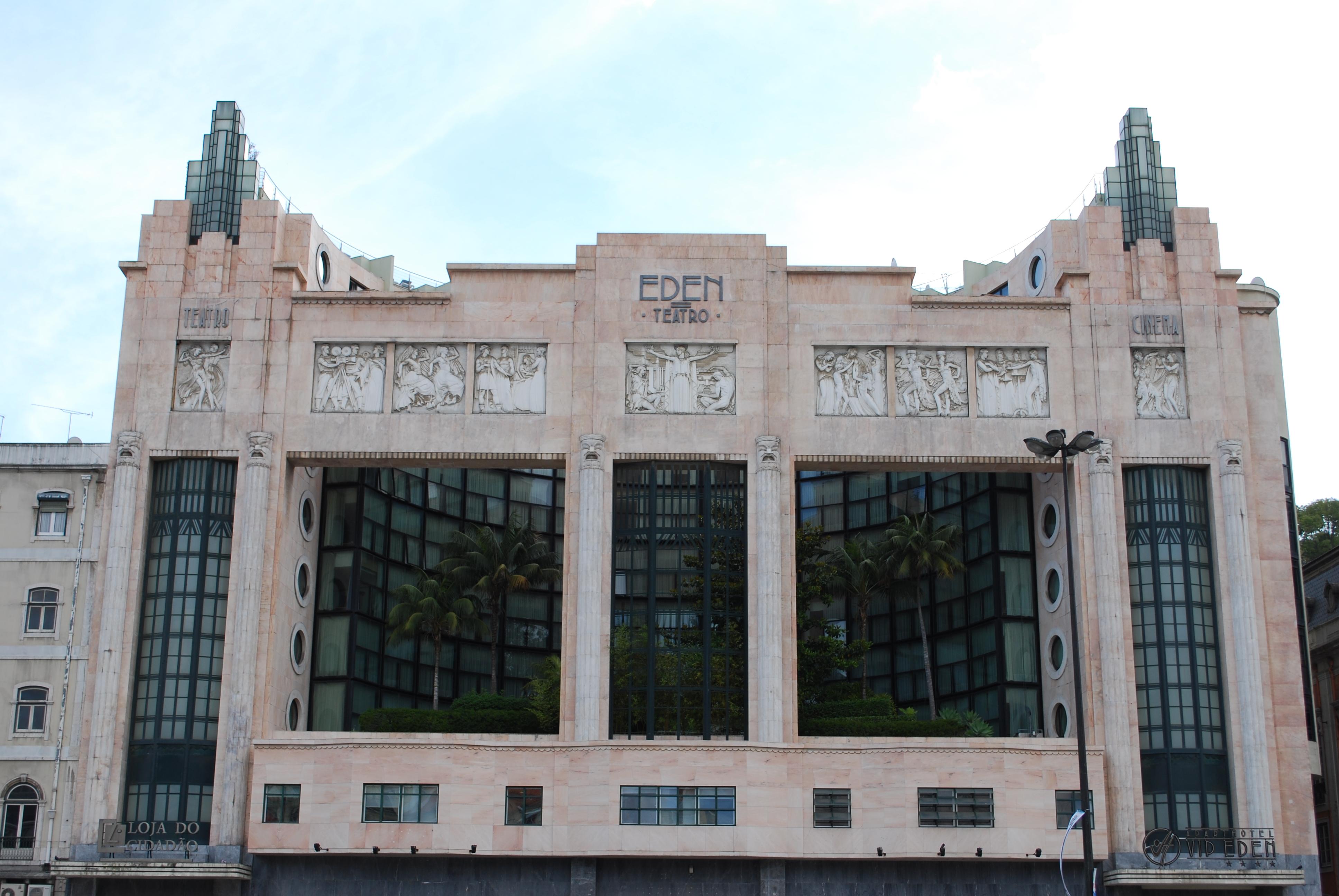 Teatro Eden Lisboa Fileteatro Wikimedia Commons