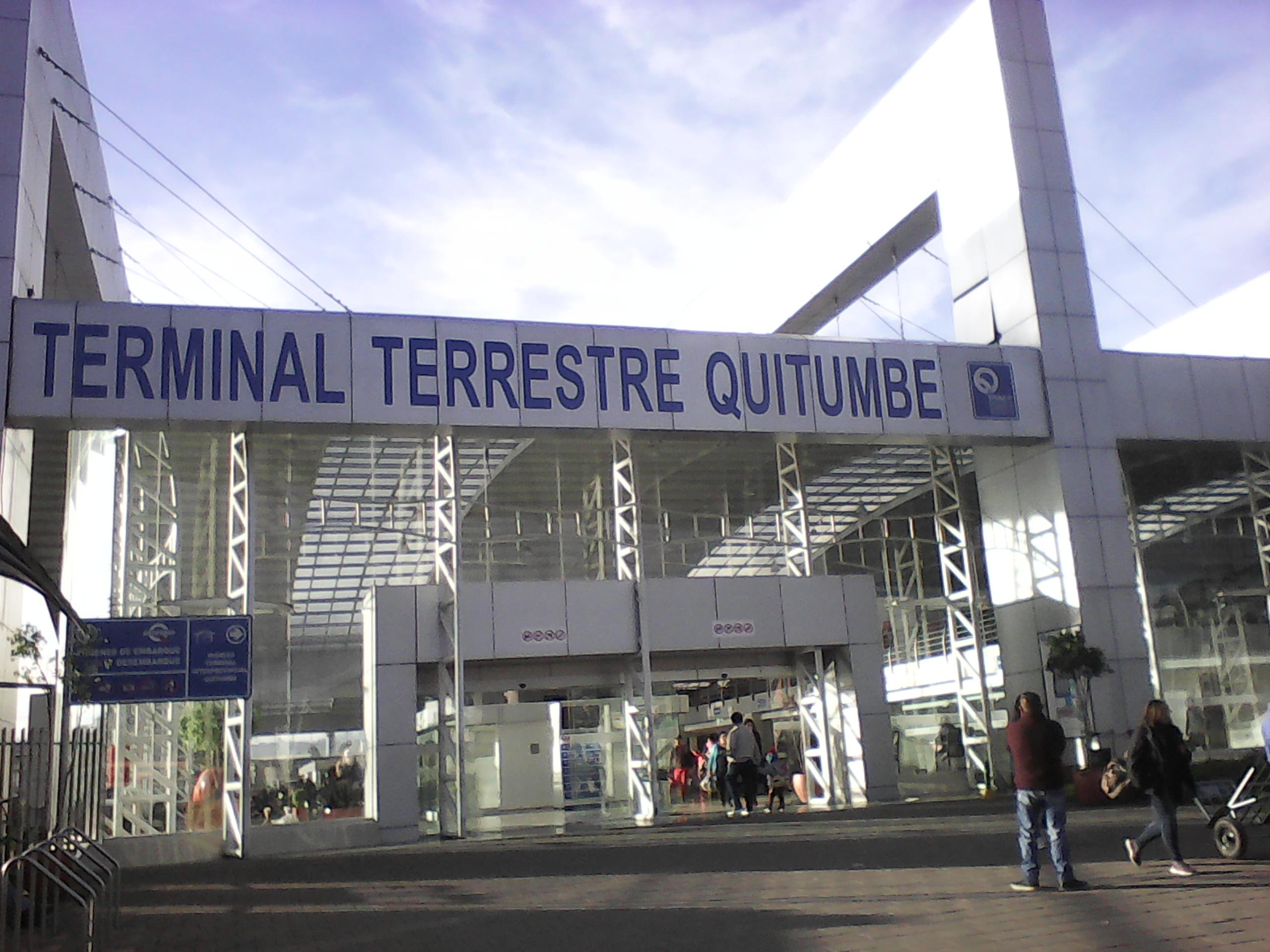Terminal Terrestre Quitumbe Wikipedia La Enciclopedia Libre