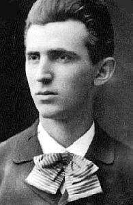 Nikola Tesla at 23 years old