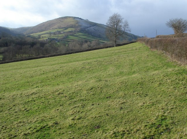 The Redlake Valley and Caer Caradoc - geograph.org.uk - 654986