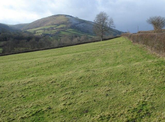 The Redlake Valley and Caer Caradoc - geograph.org.uk - 654986