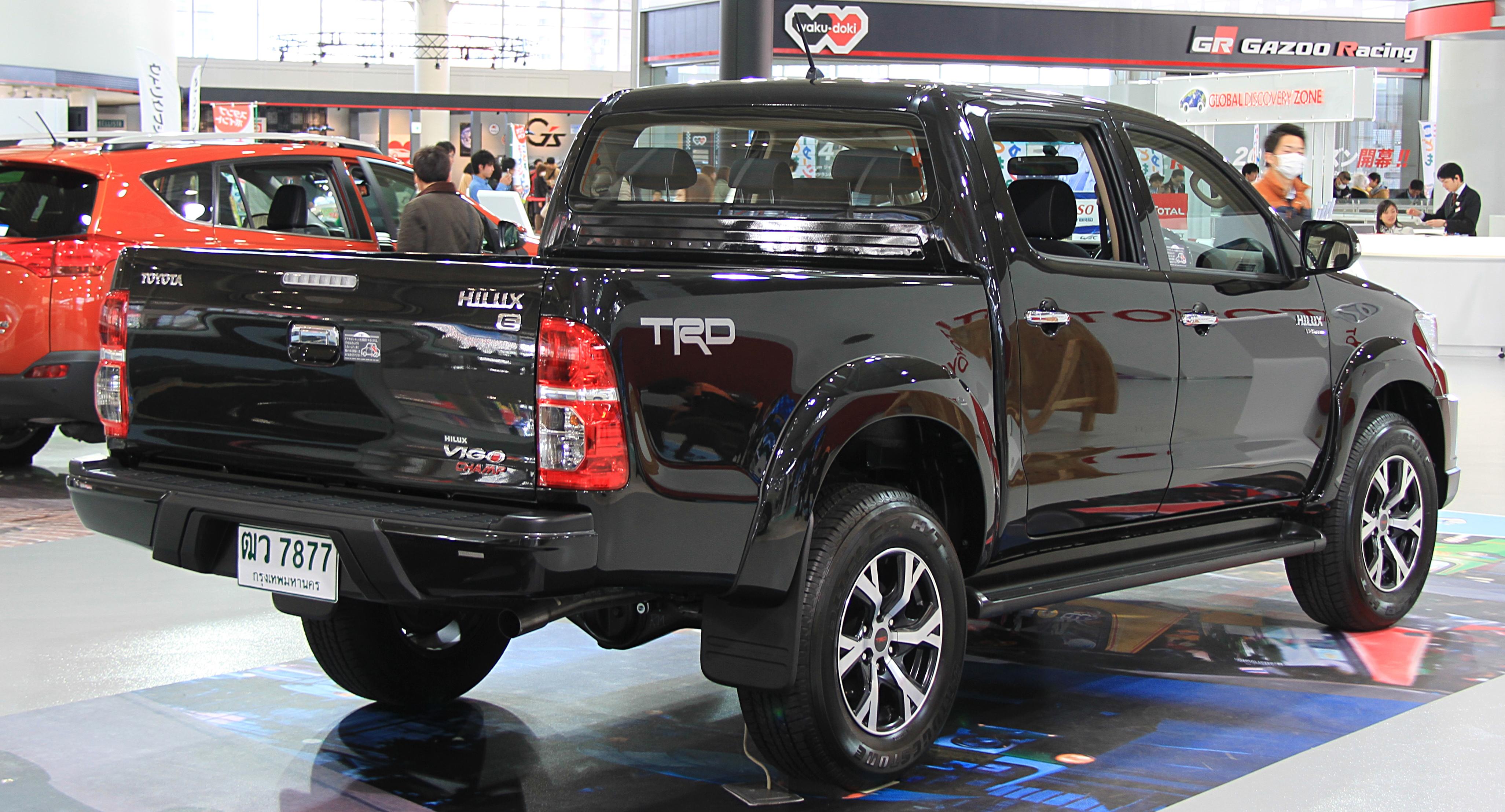 File:Toyota Hilux Vigo Champ TRD rear.jpg